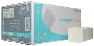 Z-fold, Euro tissue wit