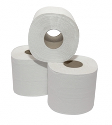 Toiletpap. rec.tissue 400vel 2lgs