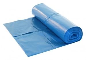 HDPE afvalzak 70x110 T25 blauw