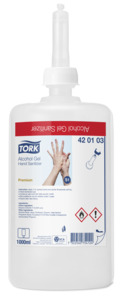 Tork Alcohol Gel Hand Sanitizer /////UITVERKOCHT/////