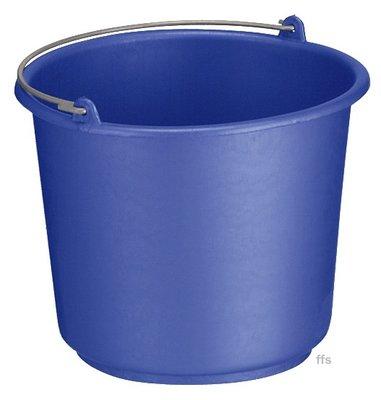 Huishoudemmer blauw