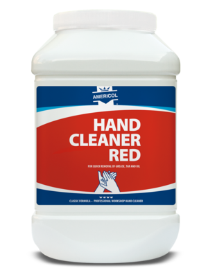 Hand Cleaner Red