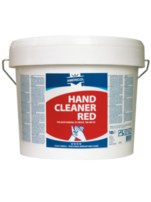 Hand Cleaner Red emmer