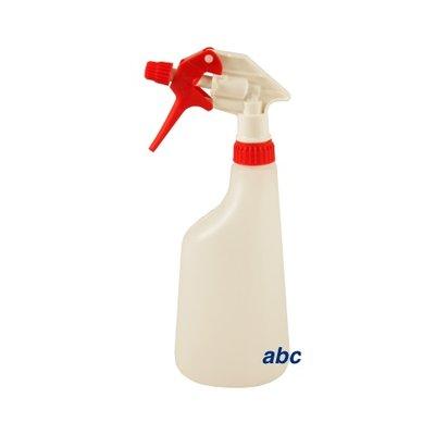 Sprayflacon 600ml. rood