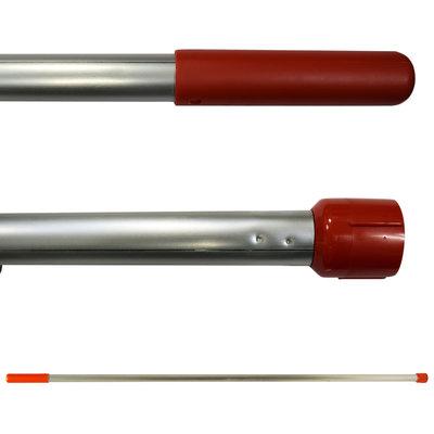 Aluminium steel rood SYR